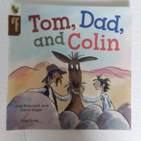 💰Tom, Dad and Colin kids book
